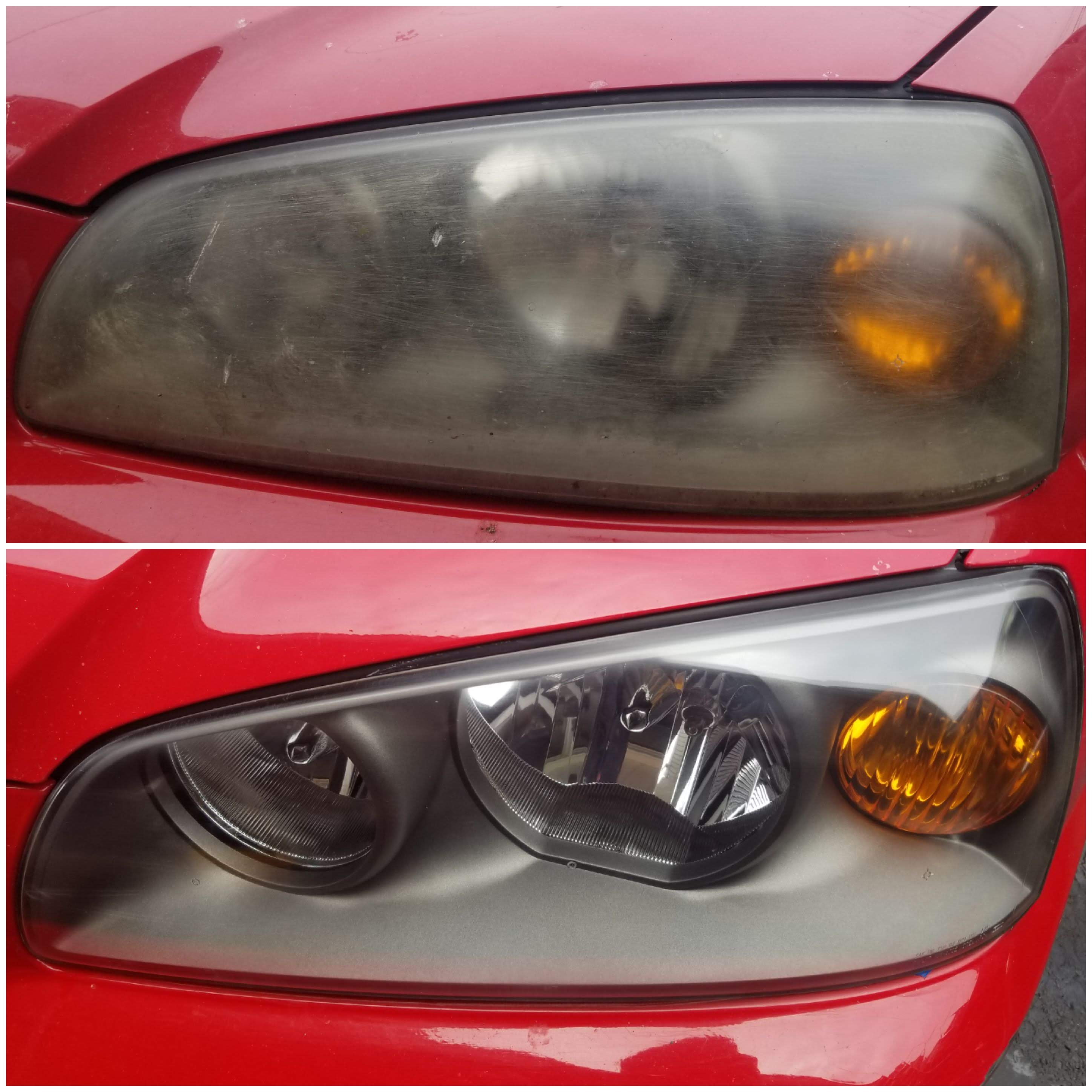 headlight restoration Kia